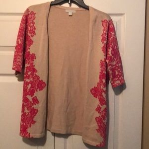 New York & Company XL -short sleeve sweater